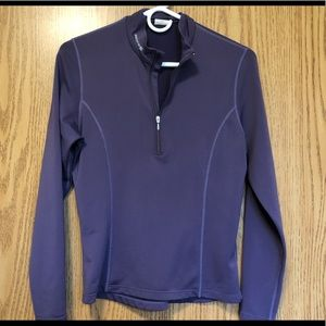 SUGOI Bright Running Sweater Purple Size S